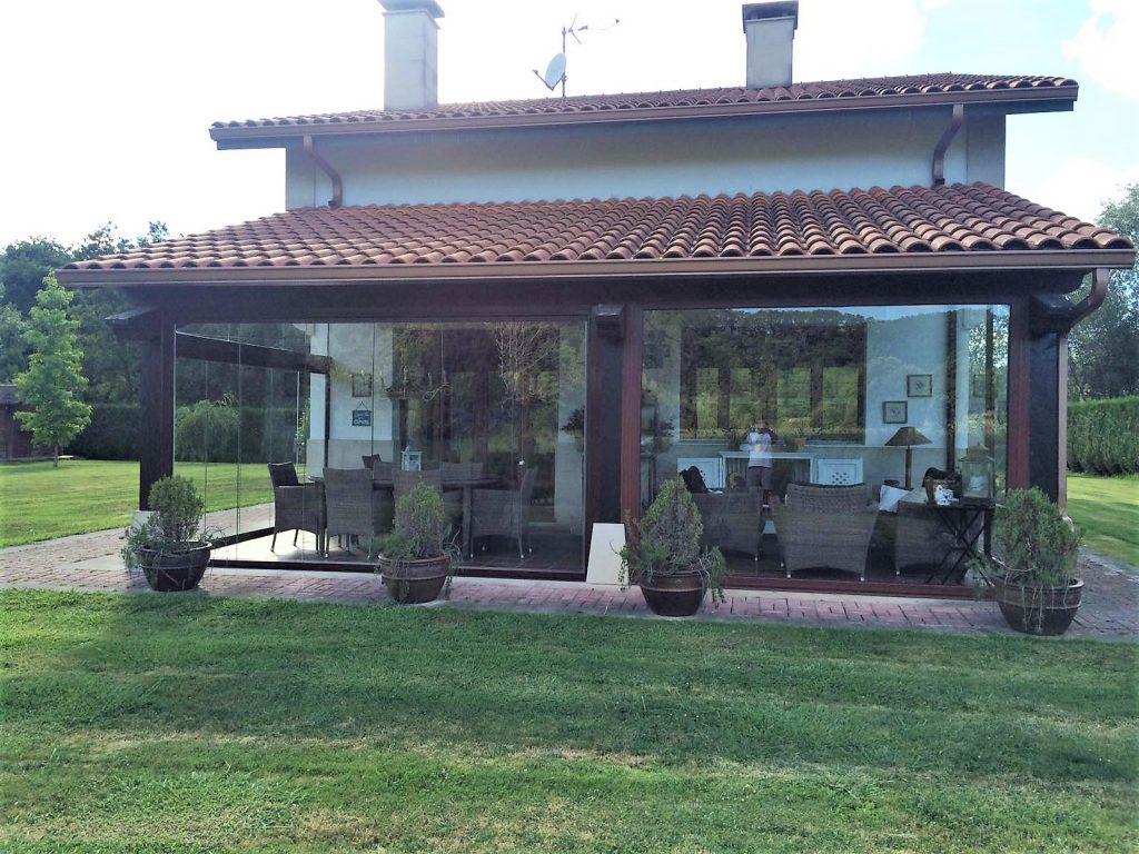 Cortinas de cristal Serie Standard en el País Vasco