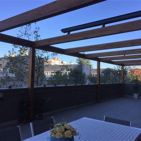 Barandilla de cristal para terrazas en Madrid