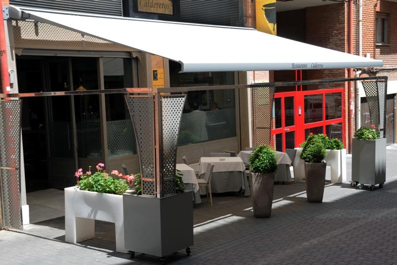 Toldo extensible para terraza