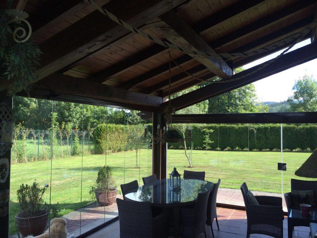 Diferentes tipos de cerramientos para terrazas y porches